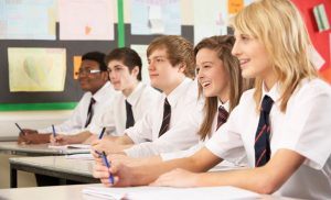 обучението в частно средно училище